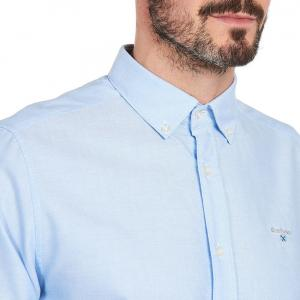 Barbour Mens Oxford 3 Tailored Shirt Sky