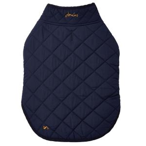 Joules Newdale Quilted Dog Coat French Navy