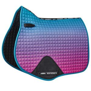 WeatherBeeta Prime Ombre All Purpose Saddle Pad Midnight Aurora