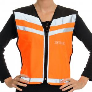 Equisafety Horse in Training Air Waistcoat Orange