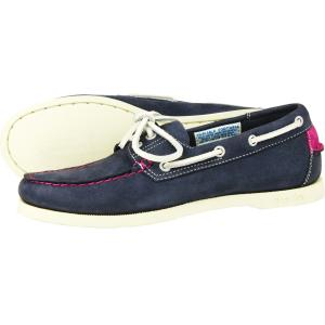 Orca Bay Ladies Sandusky Boat Shoe Indigo/Deep Pink