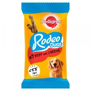 Pedigree Rodeo Duos Beef and Cheese 7 pack