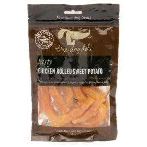 Petface® Dog Deli Chicken Rolled Sweet Potato 100g