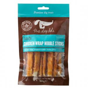 Petface® Dog Deli Chicken Wrap Nibble Sticks 100g