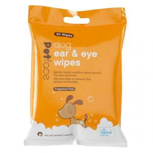 Petface® Eye and Ear Wipes