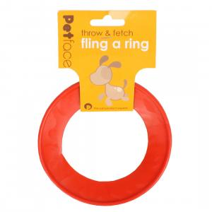 Petface® Fling-a-ring Small Red