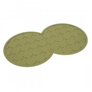 Petface® Rubber Placemat Olive
