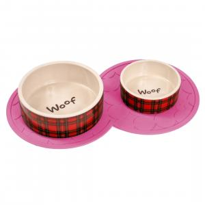 Petface® Rubber Placemat Pink