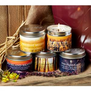 Platinum Scented Candle Moorland Heather