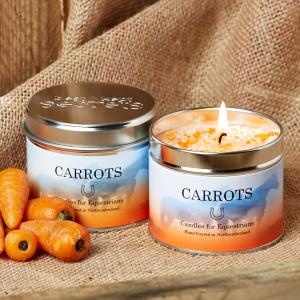 Platinum Scented Candle Carrots