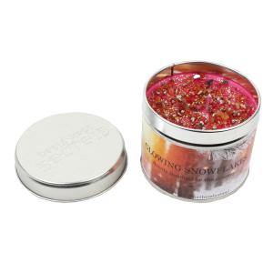 Platinum Scented Candle Glow Snowflake