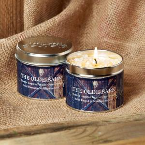Platinum Scented Candle Olde Barn