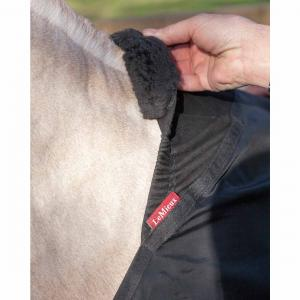 LeMieux Anti Rub Bib Black