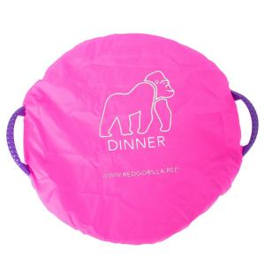 Red Gorilla Tub Cover Set Pink