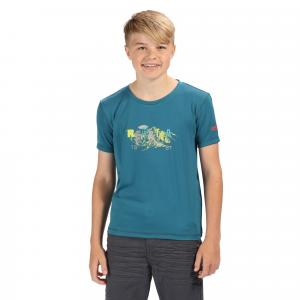 Regatta Boys Alvarado IV T-Shirt Sea Blue