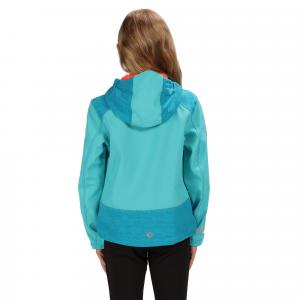 Regatta Girls Acidity III Softshell Jersey Ceramic/Enamel Reflective
