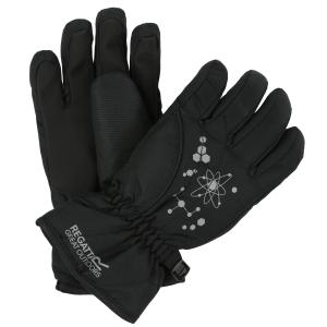 Regatta Childs Arlie ll Waterproof Gloves Black