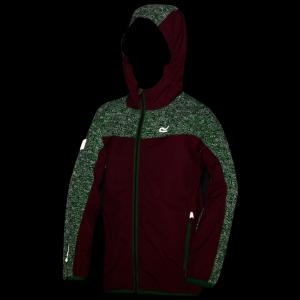 Regatta Childs Deviate Jacket Hot Pink/Island Green Reflective