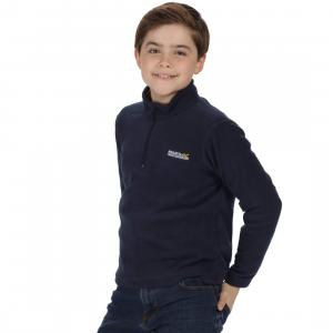 Regatta Childs Hot Shot II Half Zip Fleece Navy
