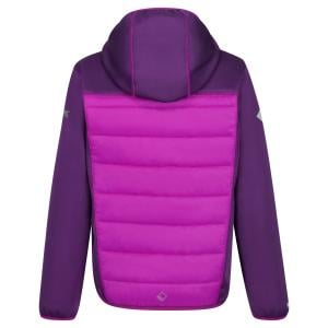 Regatta Childs Kielder IV Hybrid Jacket Winberry/Vivid Viola