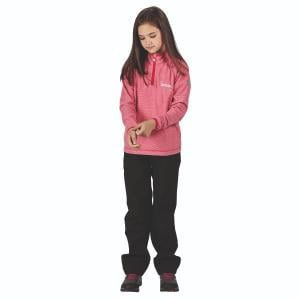 Regatta Childs Loco Fleece Dark Cerise