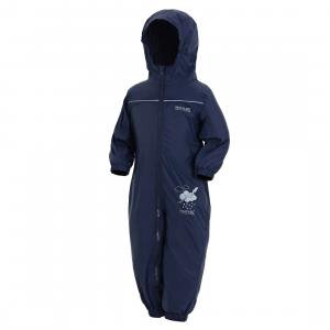 Regatta Childs Puddle IV Rainsuit Navy