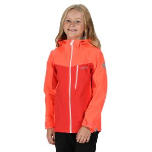 Regatta Junior Highton Jacket Fiery Coral Blush