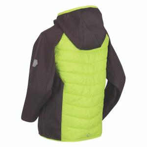 Regatta Junior Kielder Hybrid IV Jacket Electric Lime/Magnet