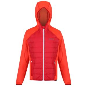 Regatta Junior Kielder Hybrid II Jacket Fiery Coral Blush