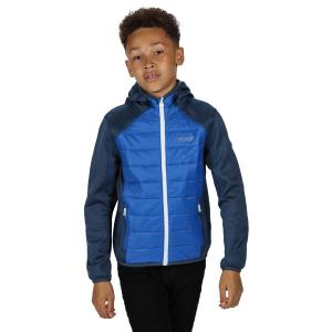 Regatta Junior Kielder Hybrid II Jacket Nautical Blue Dark Denim