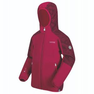 Regatta Childs Volcanics IV Jacket Dark Cerise/Beetroot