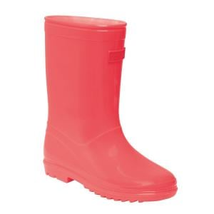 Regatta Junior Wenlock Wellingtons Fiery Coral