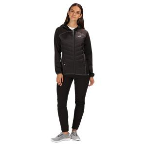 Regatta Ladies Anderson IV Hybrid Jacket Black/Black
