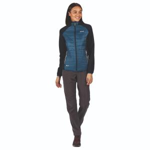 Regatta Ladies Anderson V Jacket Blue Opal/Navy