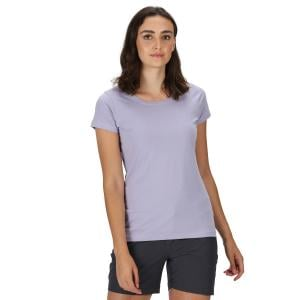 Regatta Ladies Carlie Coolweave T-Shirt Lilac Bloom