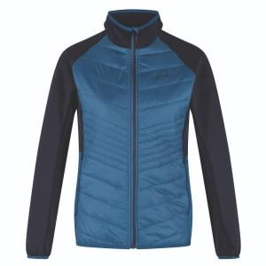 Regatta Ladies Clumber Hybrid Jacket Blue Opal/Navy