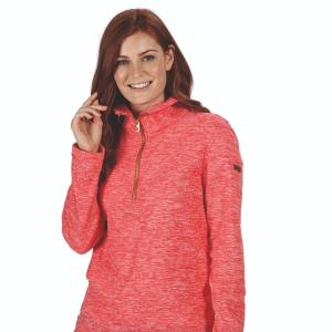 Regatta Ladies Fidelia Fleece Red Sky Marl