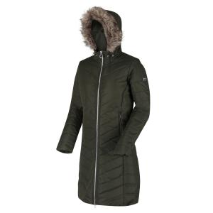 Regatta Ladies Fritha Quilted Jacket Dark Khaki