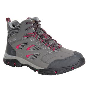 Regatta Ladies Holcombe IEP Mid Boots Steel/Vivacious