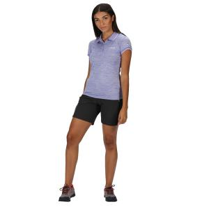 Regatta Ladies Remex II Polo Top Lilac Bloom