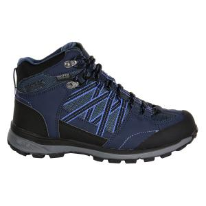 Regatta Ladies Samaris ll Mid Boots Navy/Blueberry Pie