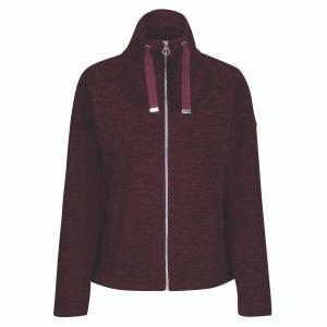 Regatta Ladies Zaylee Fleece Dark Burgundy