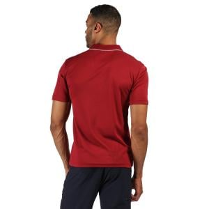Regatta Mens Maverick Polo Dehli Red
