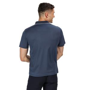 Regatta Mens Maverick Polo Dark Denim