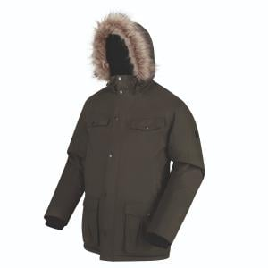 Regatta Mens Adair Jacket Dark Khaki