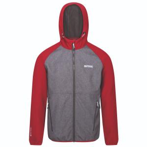 Regatta Mens Arec II Jacket Delhi Red/Ash Marl