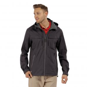 Regatta Mens Bardolf Waterproof Jacket Iron