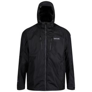 Regatta Mens Calderdale lll Waterproof Jacket Black