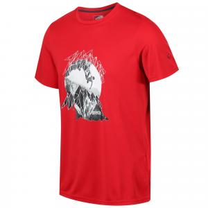 Regatta Mens Fingal IV T-Shirt Classic Red