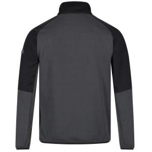 Regatta Mens Highton Half Zip Fleece II Magnet/Black
